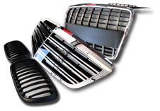 Tuning Kidney Grilles