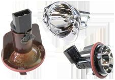 Халогенни лампи за фабрични ангелски очи