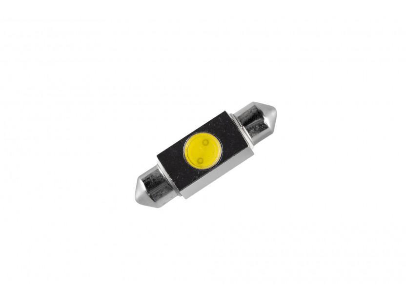 LED лампа AutoPro C5W студено бяла, 12V, 1W, SV8.5-8, 36 мм, 1брой 2