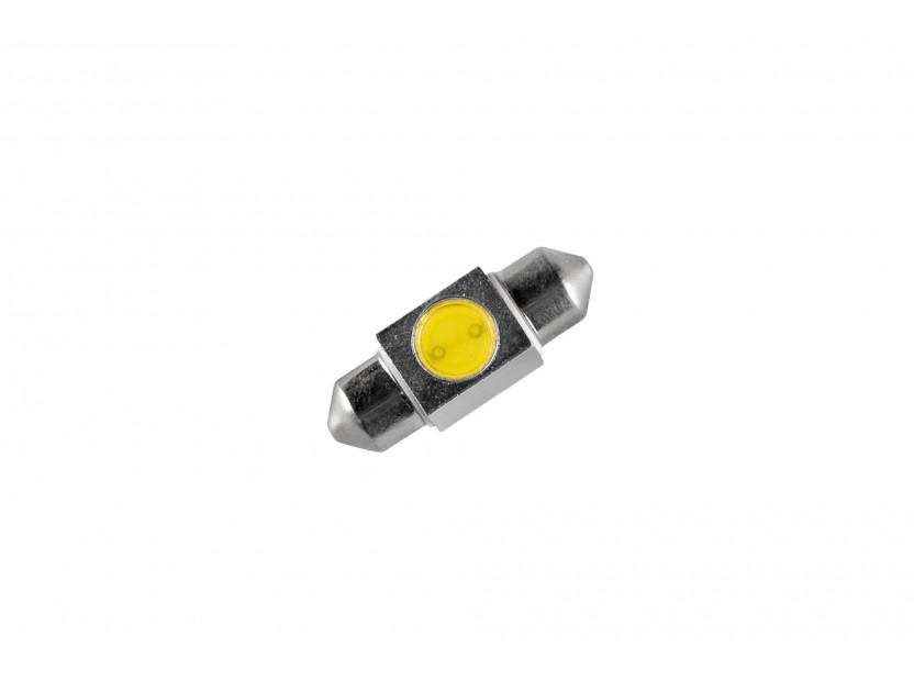 LED лампа AutoPro C5W студено бяла, 12V, 1W, SV8.5-8, 31 мм, 1брой 2