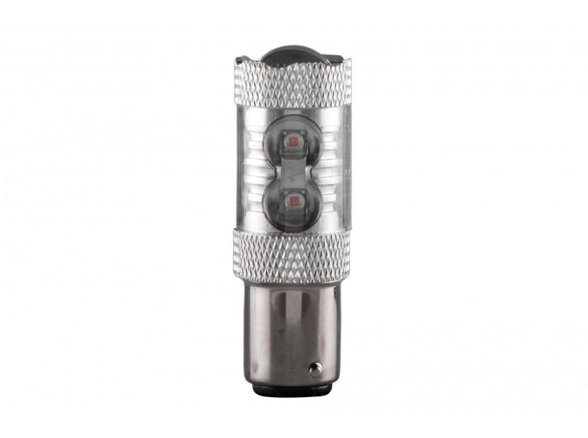 LED лампа AutoPro P21W оранжева, 12V, 50W, BA15s, 1 брой