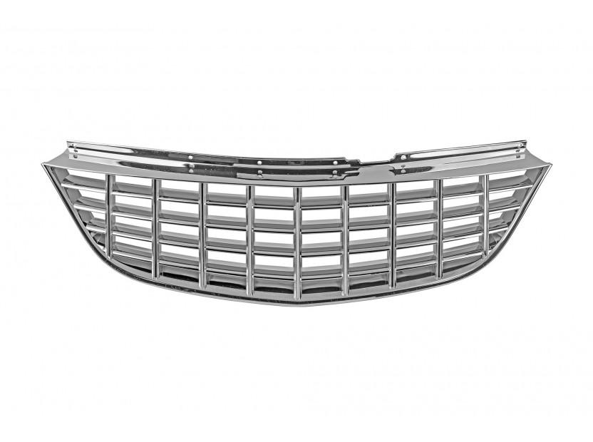 Хром решетка без емблема за Opel Corsa D 2006-2009 година