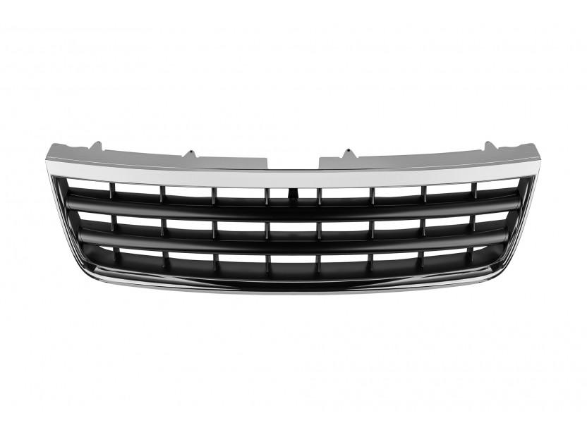 Хром/черна решетка без емблема за VW Touareg 2002-2006