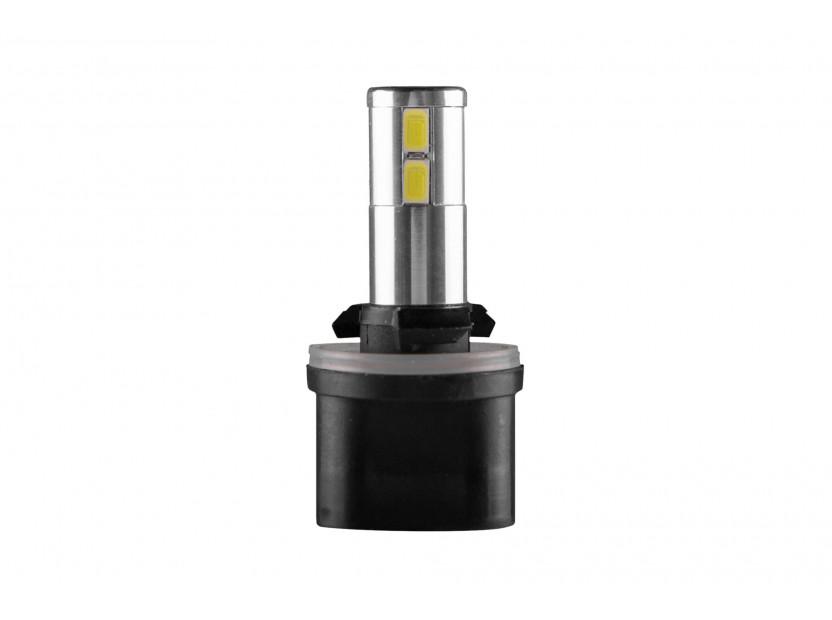 LED лампа AutoPro Н27 (880) студено бяла, 12V, 5W, PG13, 1брой