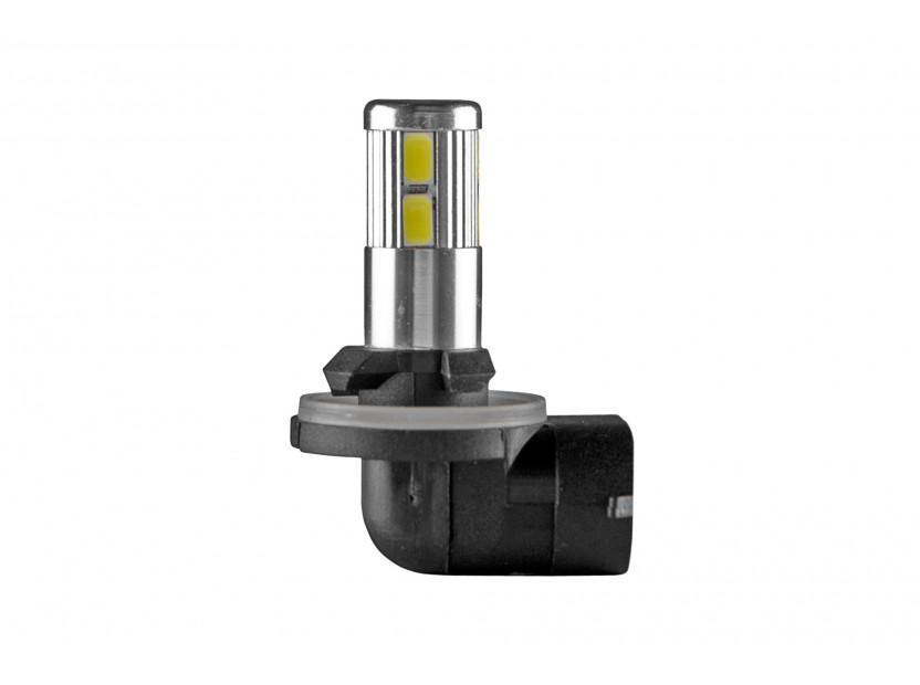 LED лампа AutoPro Н27 (881) студено бяла, 12V, 5W, PGJ13, 1брой