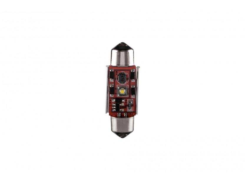 LED лампа AutoPro C5W студено бяла, 12V, 5W, SV8.5-8, 39 мм, 1 брой
