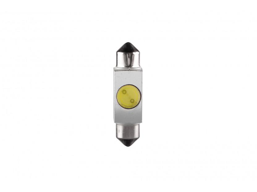LED лампа AutoPro C5W студено бяла, 12V, 1W, SV8.5-8, 36 мм, 1брой