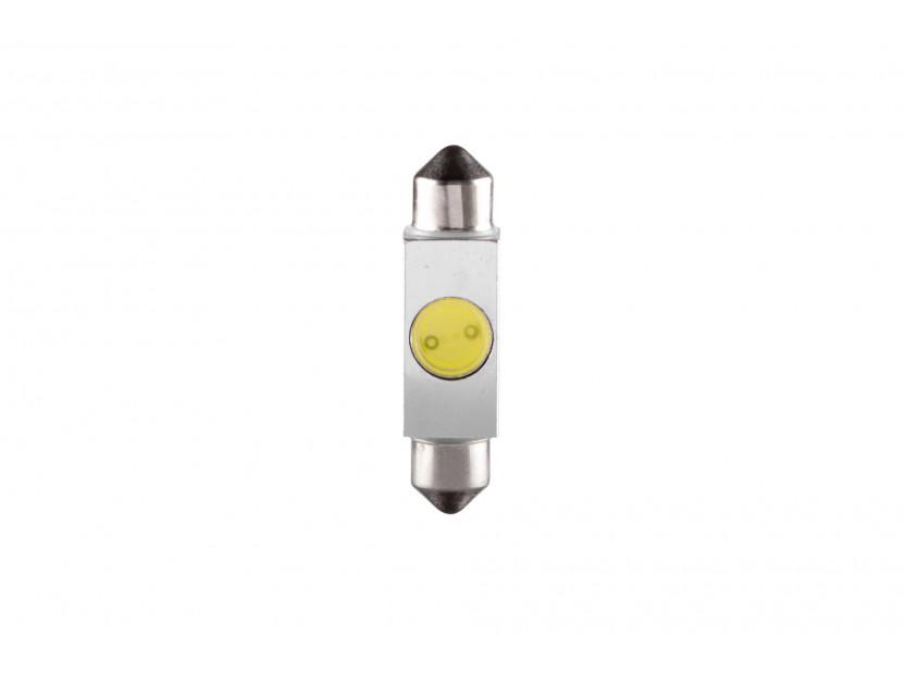 LED лампа AutoPro C5W студено бяла, 1W, SV8.5-8, 39 мм, 1брой