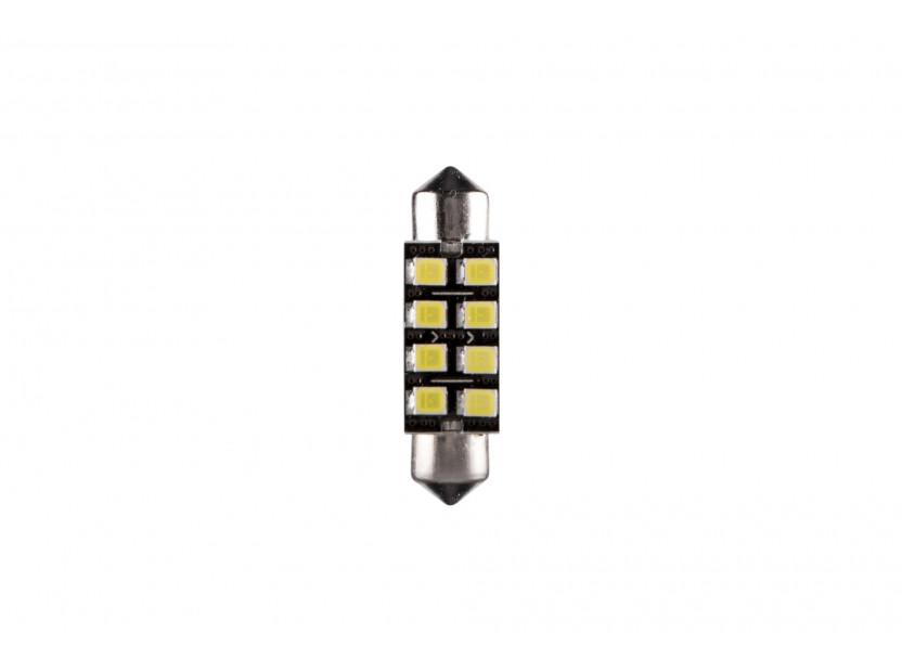 LED лампа AutoPro C5W Canbus, студено бяла, 12V, 0.5W, SV8.5-8, 36мм, 1брой