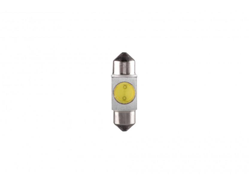 LED лампа AutoPro C5W студено бяла, 12V, 1W, SV8.5-8, 31 мм, 1брой