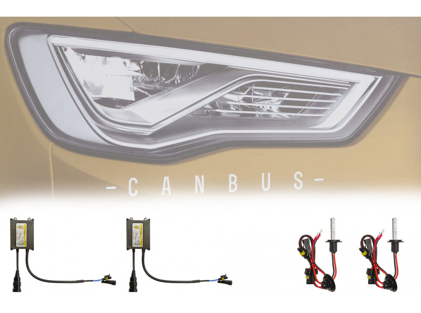 Ксенон система CANBUS H7 4300K 12V/24V/35W 4