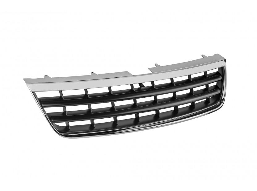 Хром/черна решетка без емблема за VW Touareg 2002-2006 2