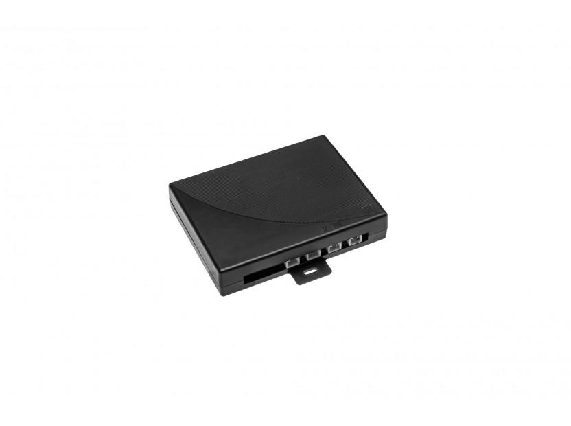 Парктроник система с VFD дисплей тип огледало за обратно виждане с 4 черни датчика 4