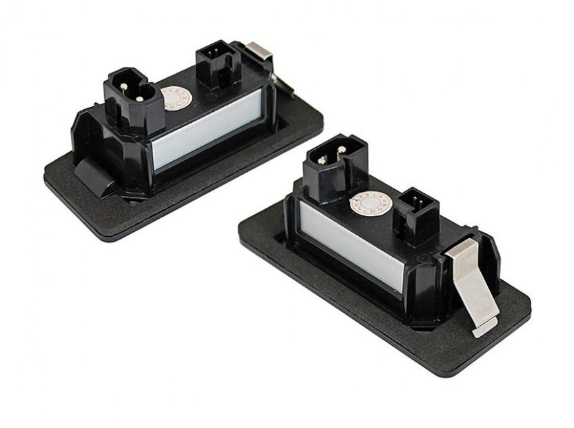 Комплект LED плафони за регистрационен номер за BMW серия 1, 3, 5, ляв и десен 2