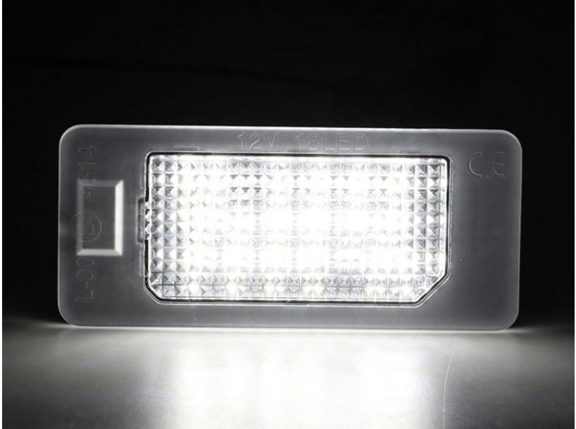 Комплект LED плафони за регистрационен номер за BMW серия 1, 3, 5, ляв и десен 3