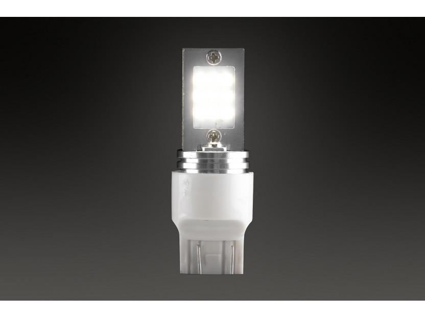 LED лампа AutoPro W21W/5W студено бяла, 12V, 9W, W3x16q, 1 брой 3