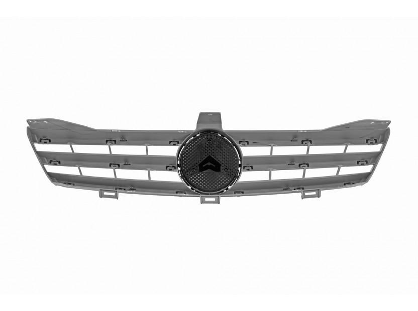 Хром/сива решетка за Mercedes CLS класа W219 2004-2008 3