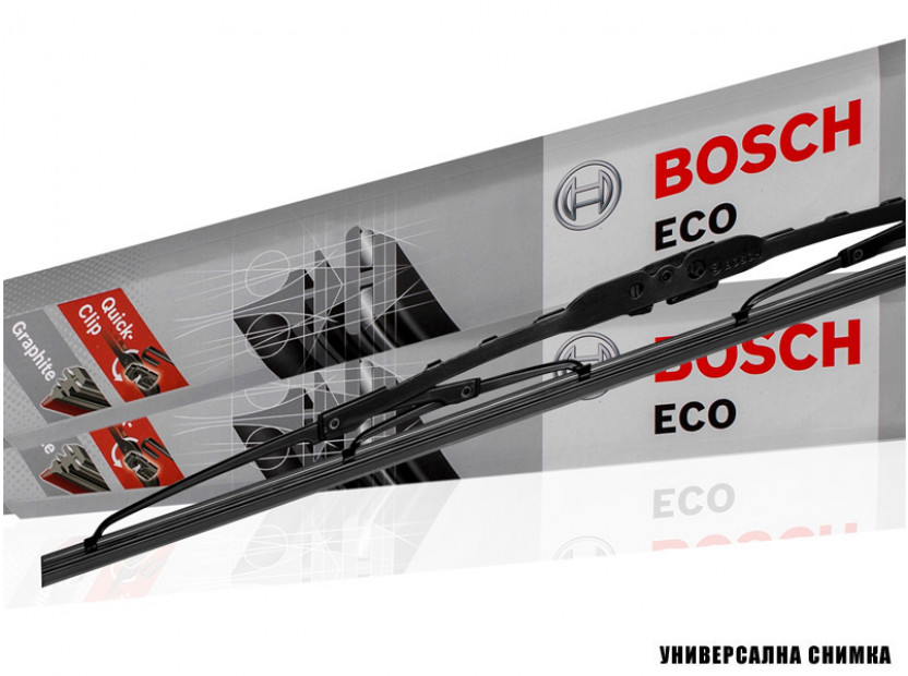 Комплект автомобилни чистачки BOSCH Eco 550C, 550мм + 550мм, без спойлер 4