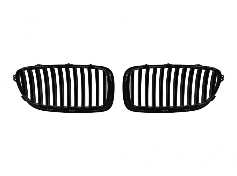 Бъбреци черен лак за BMW серия 5 F10 седан, F11 комби 2010-2017 3