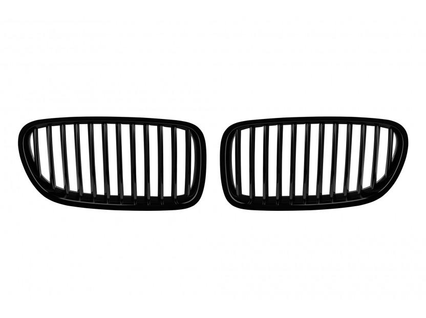 Бъбреци черен лак за BMW серия 5 F10 седан, F11 комби 2010-2017