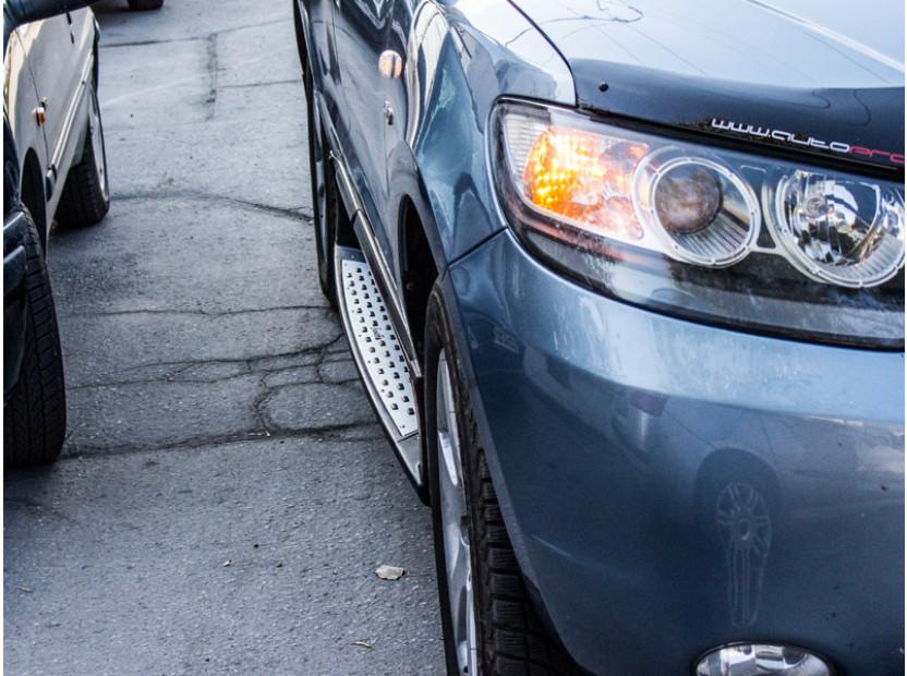 Алуминиеви степенки за Hyundai Santa Fe 2006-2009 7