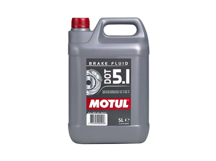 Спирачна течност MOTUL DOT 5.1 100% СИНТЕТИКА 5L