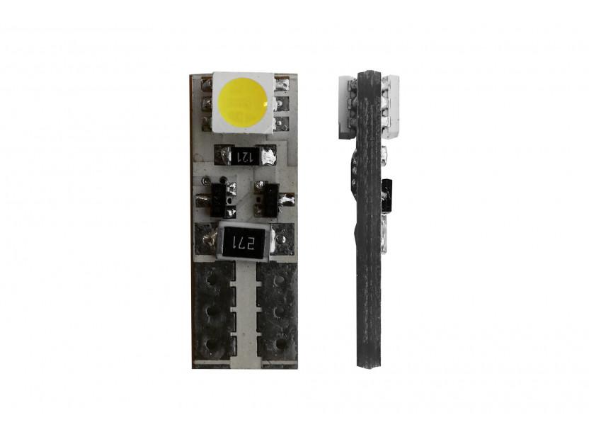 LED лампа AutoPro W5W Canbus, студено бяла, 12V, 1W, W2.1x9.5d, 1 брой 2