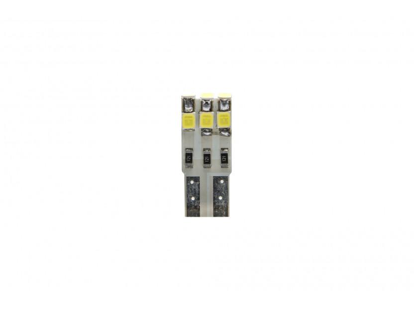 LED лампа AutoPro W5W студено бяла, 12V, 1W, W2.1x9.5d, 1брой