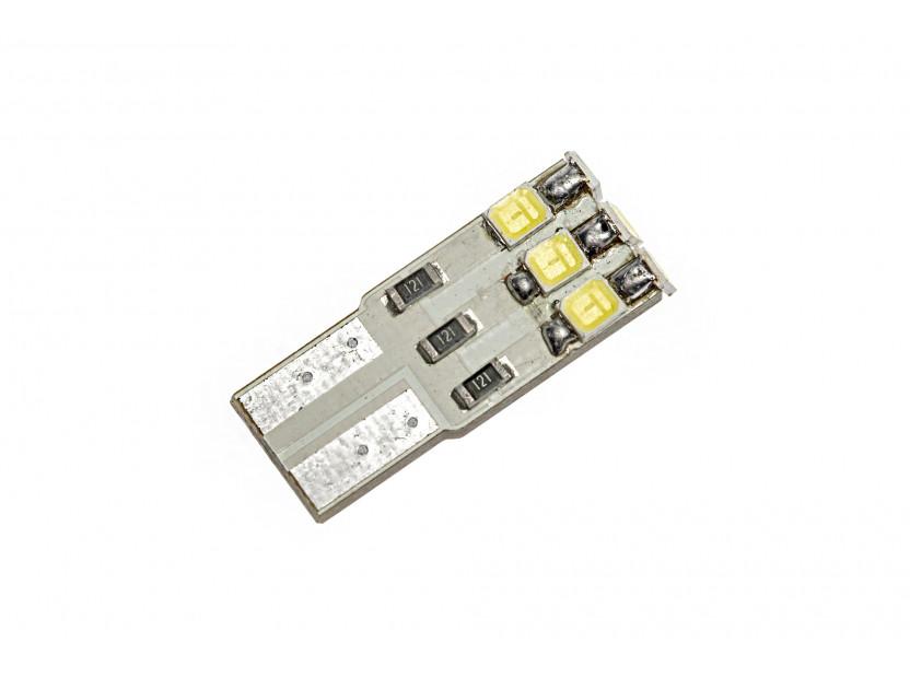 LED лампа AutoPro W5W студено бяла, 12V, 1W, W2.1x9.5d, 1брой 2