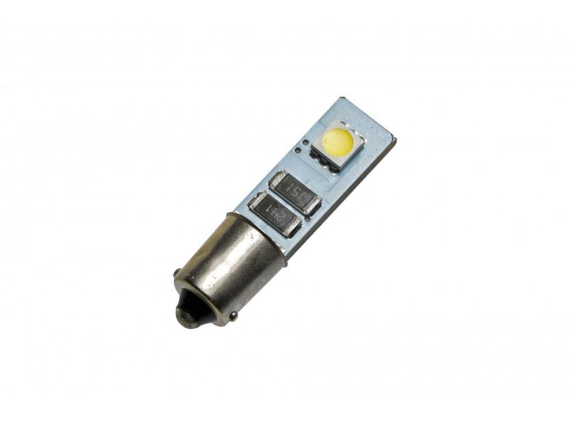 LED лампа AutoPro T4W Canbus, студено бяла, 12V, 1W, BA9s, 1брой 2