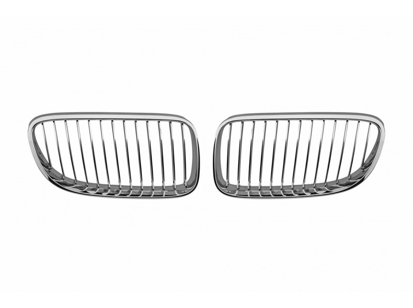 Бъбреци хром за BMW серия 3 E92 купе, E93 кабрио 2010-2013