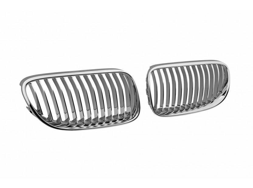 Бъбреци хром за BMW серия 3 E92 купе, E93 кабрио 2010-2013 2