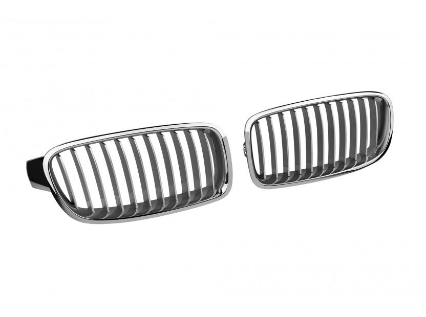 Бъбреци хром за BMW серия 3 F30 седан/F31 комби 2012 => 3