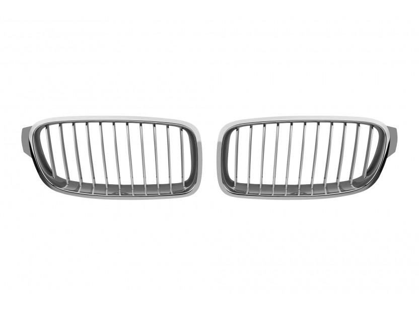 Бъбреци хром за BMW серия 3 F30 седан/F31 комби 2012 =>