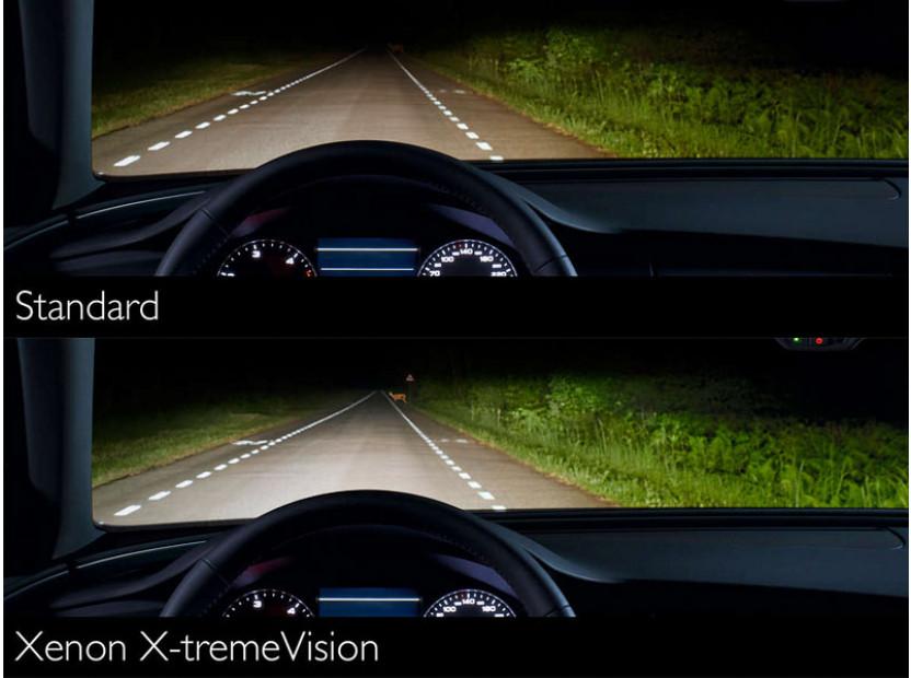 Ксенонова лампа Philips D1S X-Treme Vision 85V, 35W, PK32D-2 1бр. 4