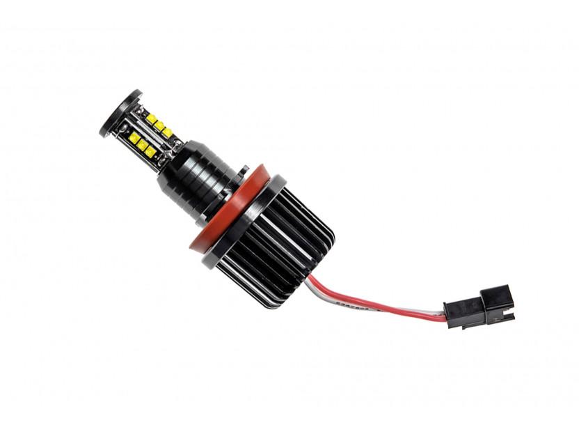 Бели LED лампи autopro за фабрични ангелски очи H8 120W CREE 2
