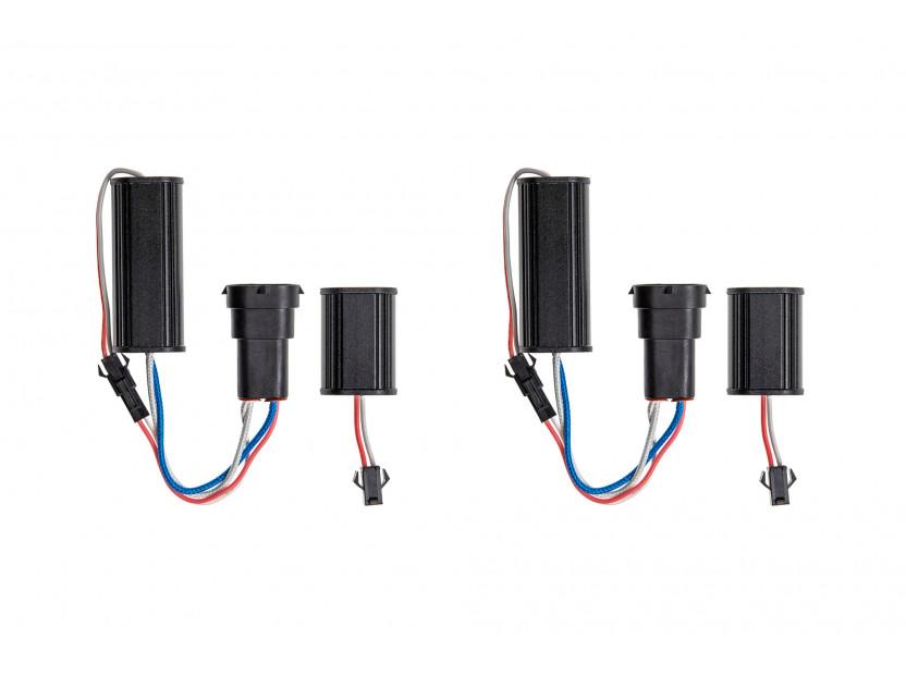 Бели LED лампи autopro за фабрични ангелски очи H8 120W CREE 3