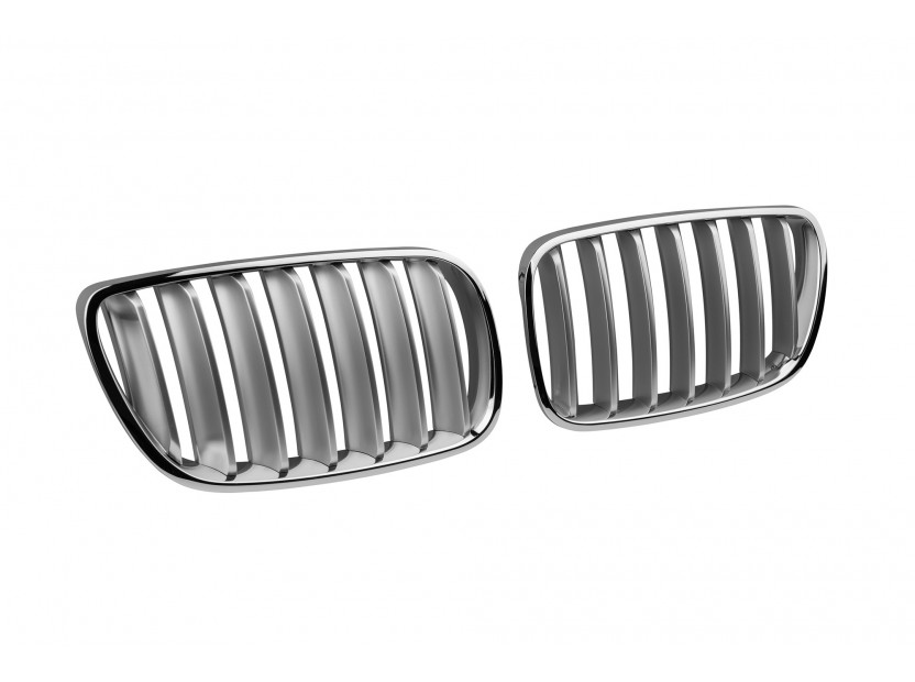 Бъбреци хром/сиви за BMW X3 E83 2007-2010 2