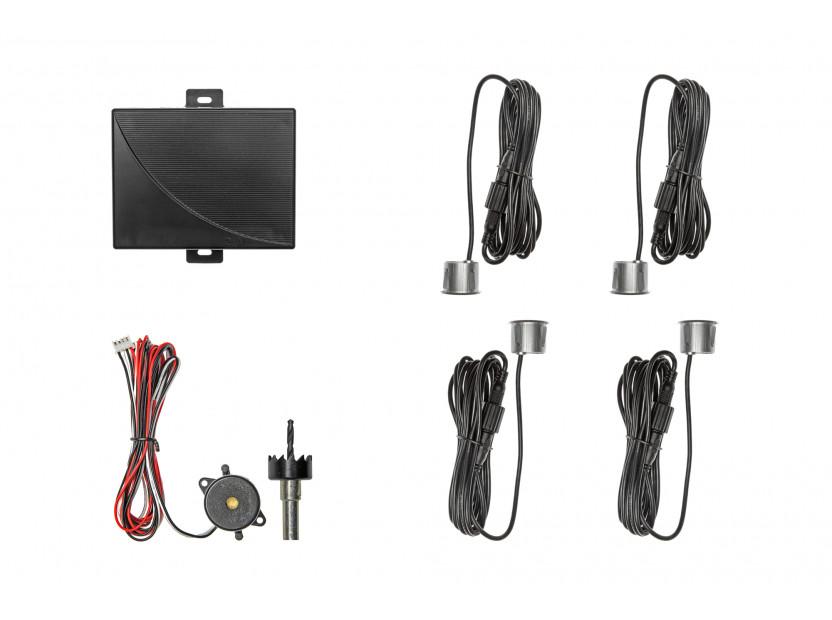 Парктроник система със звукова сигнализация RD-008 с 4 сиви датчика