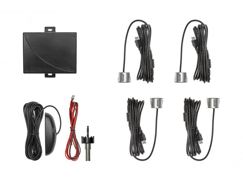 Парктроник система с LED дисплей RD-037 с 4 сиви датчика