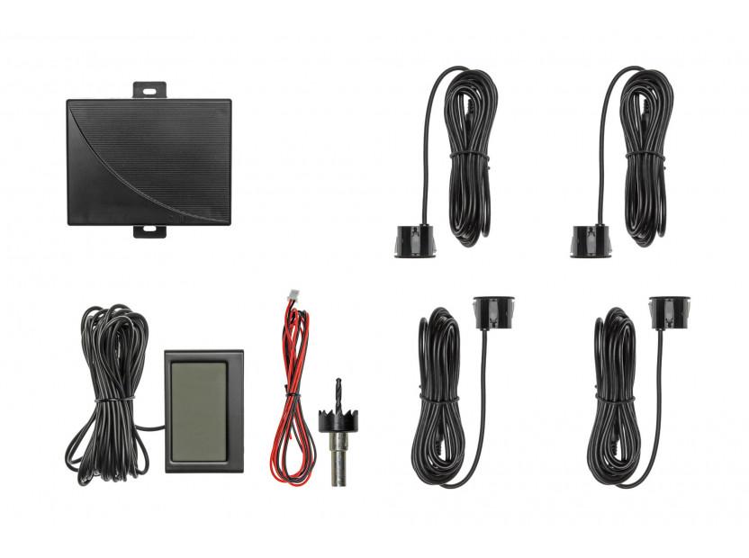 Парктроник система с 2.3'' LCD дисплей RD-058 с 4 черни датчика