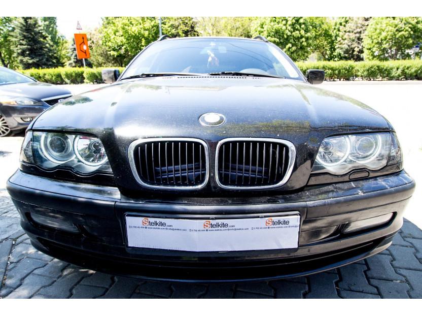 БЕЛИ CCFL ангелски очи аutopro за BMW серия 3 E46 седан/комби 1998-2005/E46 купе 1999-2002 5