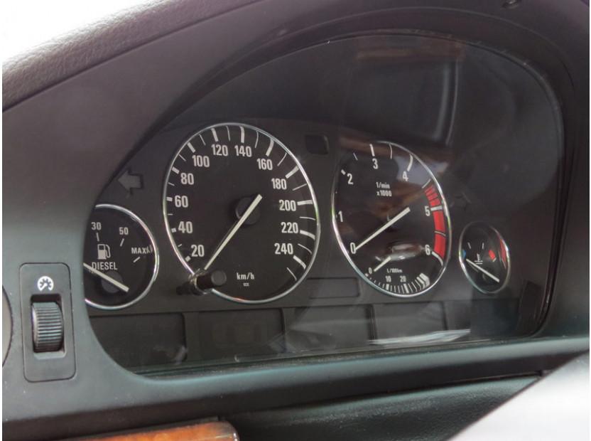 Рингове за табло autopro за BMW серия 5 E39 1995-2004/серия 7 E38 1994-2001/серия Х5 E53 2000-2007, цвят хром 8