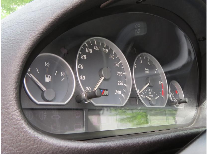 Рингове за табло autopro за BMW серия 3 E46 всички версии 1998-2005 , цвят сиви 9