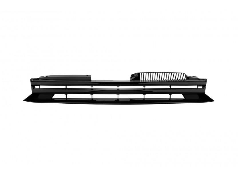 Черна решетка без емблема за VW Golf VI 2008-2012