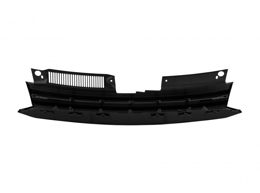 Черна решетка без емблема за VW Golf VI 2008-2012 3