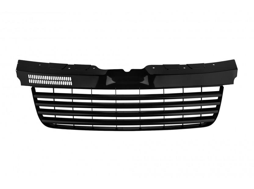 Черна решетка без емблема за VW T5/Multivan/Caravelle 2003-2010