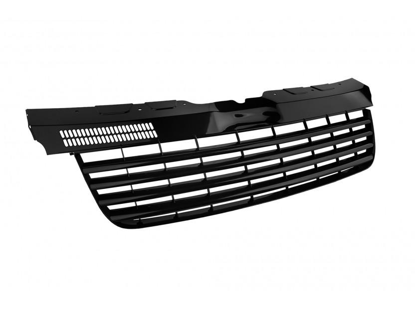 Черна решетка без емблема за VW T5/Multivan/Caravelle 2003-2010 2