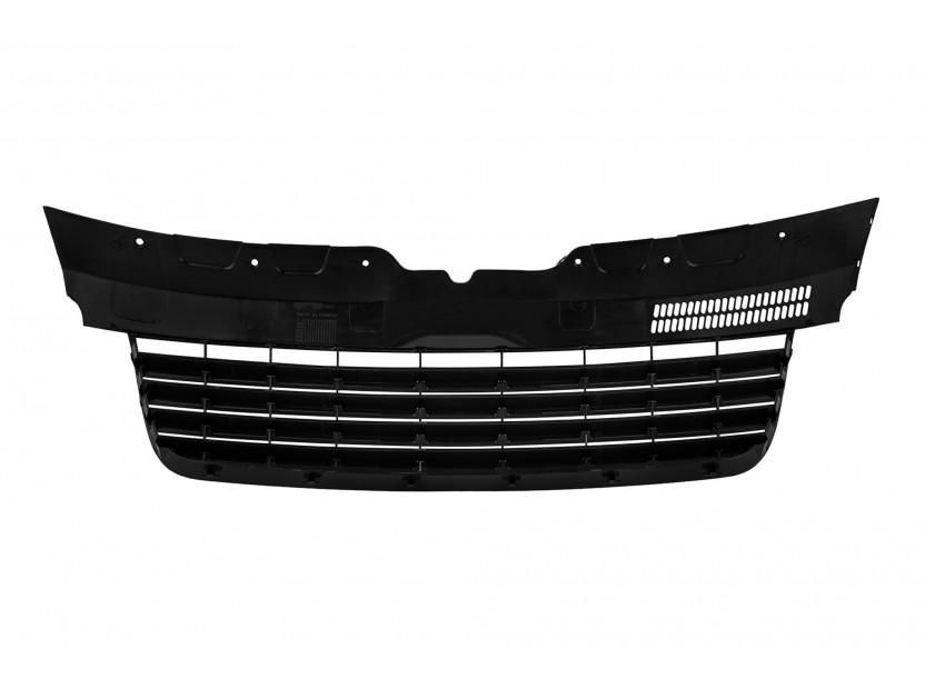 Черна решетка без емблема за VW T5/Multivan/Caravelle 2003-2010 3