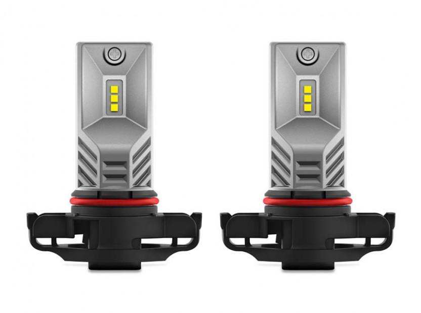 Комплект 2 броя LED лампи Osram тип PSX24W бели, 12V, 21W, PG20-7 2